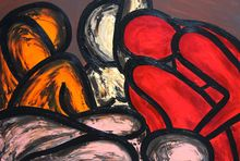 Francesco RUSPOLI - Pintura - Dreamers    (Cat N° 4853)
