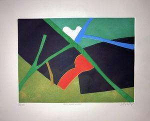 Bertrand DORNY - Print-Multiple - Petit Voyage lointain