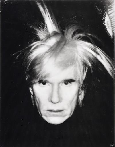 安迪·沃霍尔 - 照片 - Self Portrait - Fright Wig