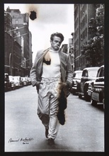 Bernard AUBERTIN - Peinture - James Dean brulé