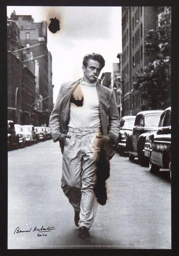 Bernard AUBERTIN - Pintura - James Dean brulé