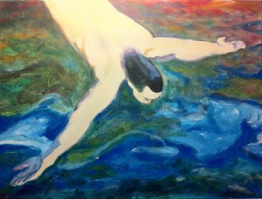 Federico JIMÉNEZ Y FERNÁNDEZ - Painting - Splash