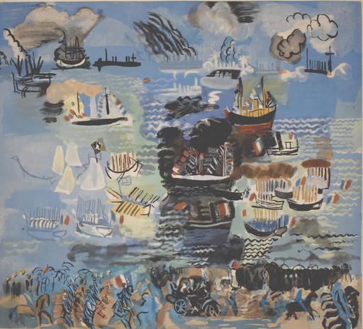 拉奥尔•杜飞 - 版画 - Nautical Festival | Fête nautique