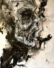 Guillaume KALT - Pintura - Le souffle    (Cat N° 6163)