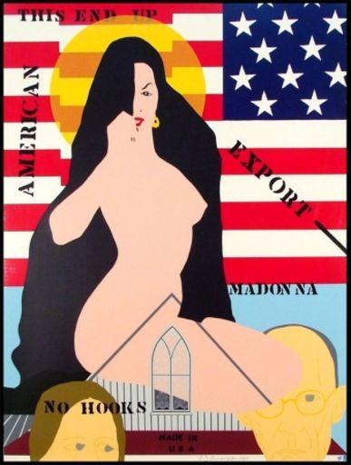 Allan D'ARCANGELO - Stampa Multiplo - Export Madonna