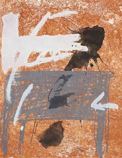 Antoni TAPIES - Print-Multiple - Bois Des Cerfs 2