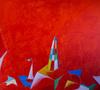 Nicola Maria MARTINO - Painting - ormeggio ellenico