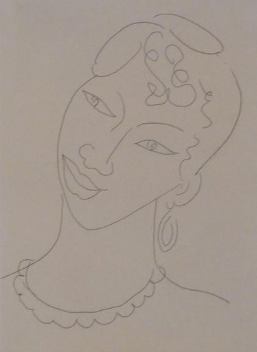 亨利·马蒂斯 - 版画 - Portrait of a Martinican Woman / La Martiniquaise