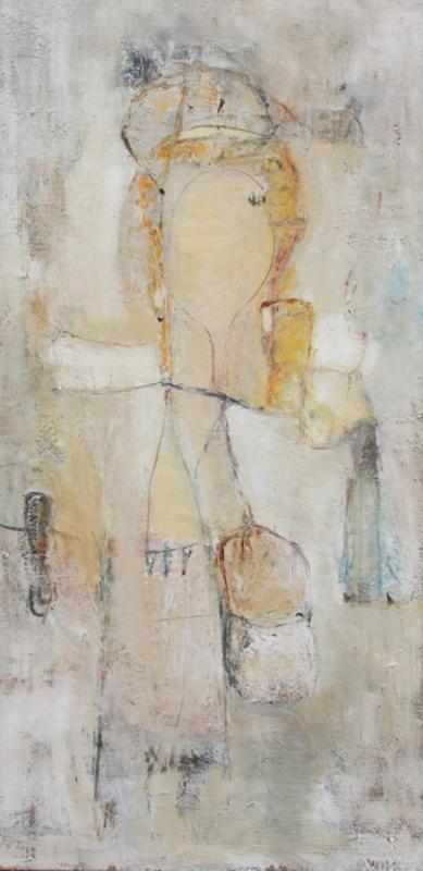 Levan URUSHADZE - Pittura - Girl