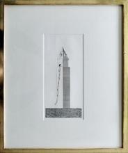 David HOCKNEY (1937) - The Tower had One Window