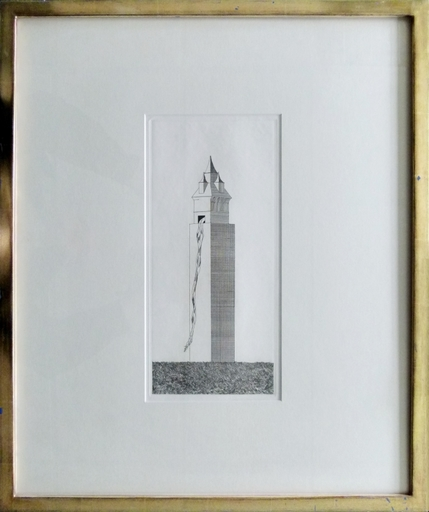 David HOCKNEY - Estampe-Multiple - The Tower had One Window