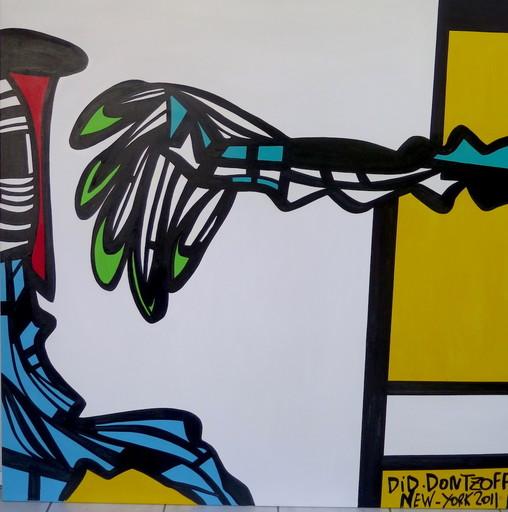 Did DONTZOFF - Peinture - New York