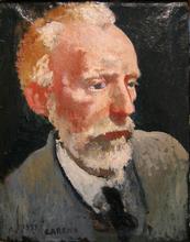 Felice CARENA - Painting - Autoritratto, 1939