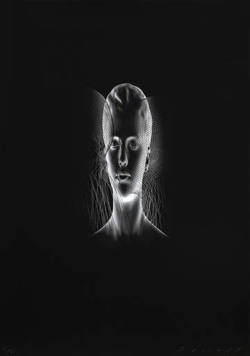 Jaume PLENSA - Grabado - Aura II