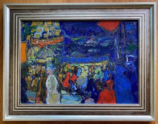 Jean FUSARO - Gemälde - Port De Marseille