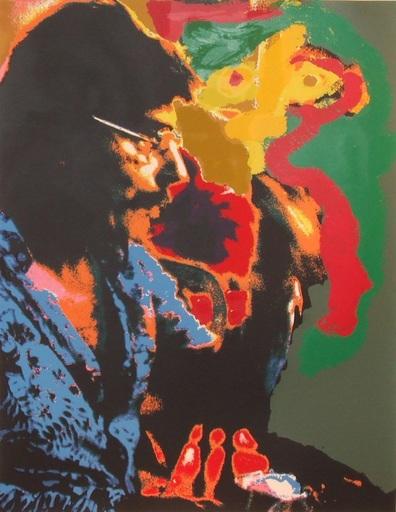 Karel APPEL - Estampe-Multiple - Seven Summerdays, 1977