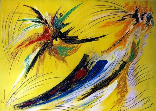 Didier ANGELS - Peinture - L'épervier