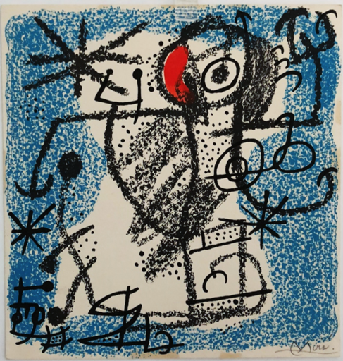 Joan MIRO - Stampa-Multiplo - LES ESSENCIES DE LA TERRA