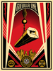 "Shepard FAIREY - Estampe-Multiple - ""Guerilla One"""
