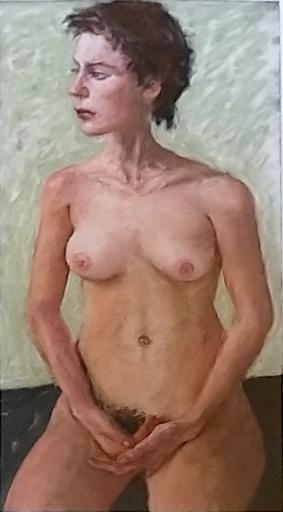 Avigdor ARIKHA - Dessin-Aquarelle - Nude Study