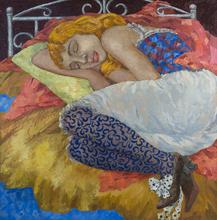 Elena KALLISTOVA - Painting - Golden Dream