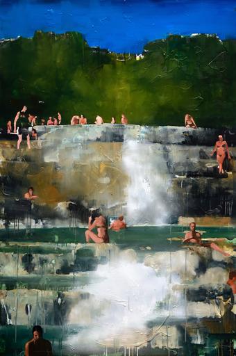Daniele GALLIANO - 绘画 - Una Pazza Felicità