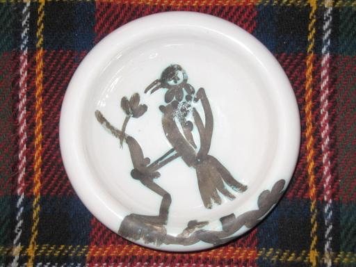 Pablo PICASSO - Ceramic - COUPE OISEAU A LA BRANCHE 1952