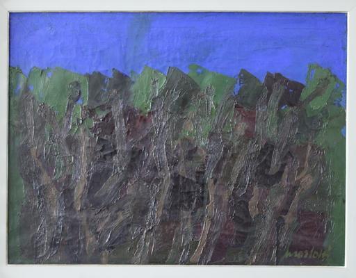 Ennio MORLOTTI - Gemälde - Bosco