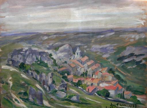 Jean LAIR - Painting - Les Baux de Provence