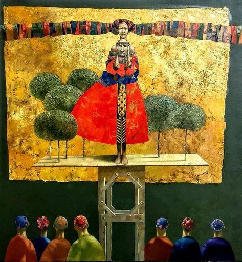 Bobur ISMOILOV - Peinture - Judith