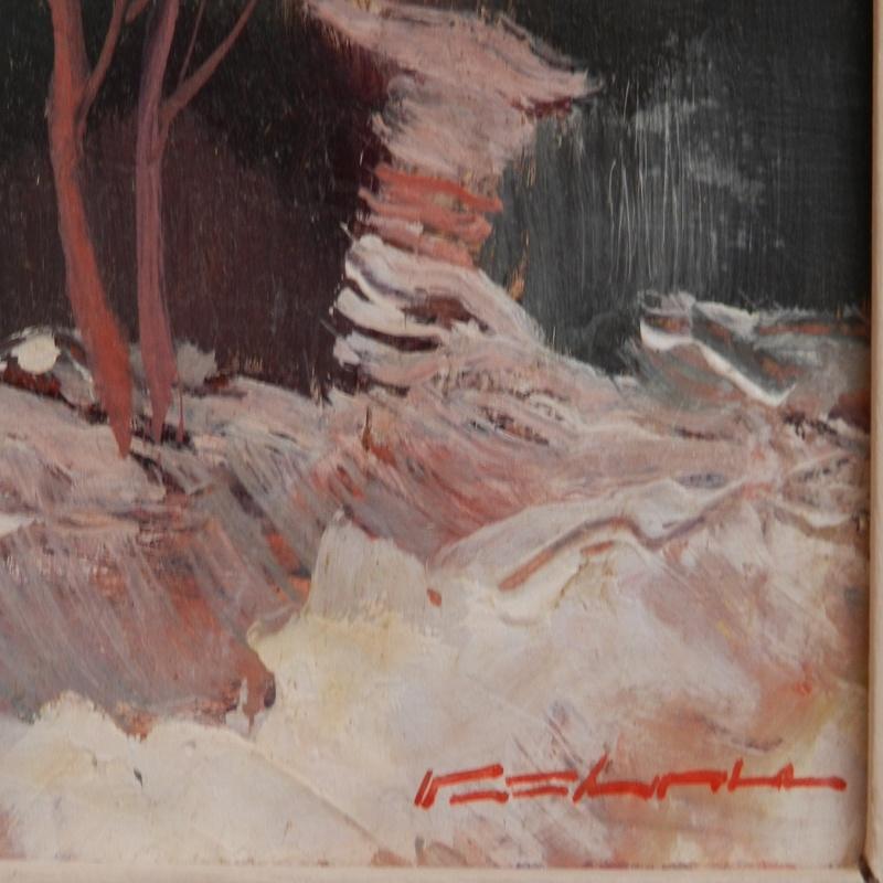 Stanislav PŘÍHODA - Painting -  Soft winter