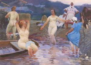 Alessio ISSUPOFF, Bathers