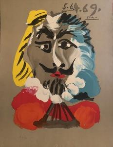 Pablo PICASSO - Print-Multiple - PORTRAIT IMAGINAIRE