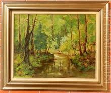 Anton JASUSCH - Painting - Forest still life