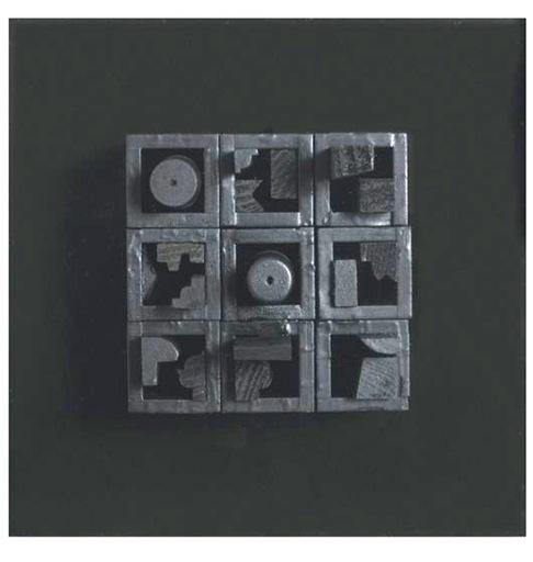 路易斯·内维尔森 - 雕塑 - Expanding View VI