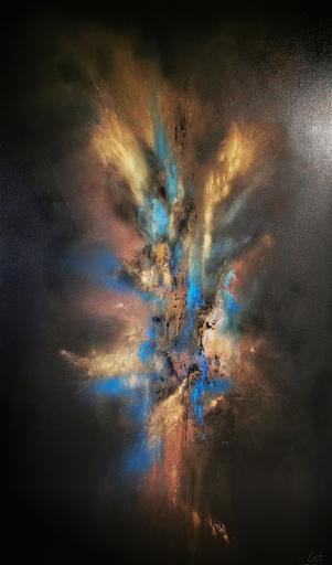Elodie DOLLAT - Gemälde - Bereshit II