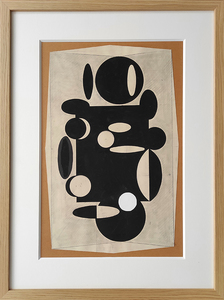 Victor VASARELY - Drawing-Watercolor - Untitled.
