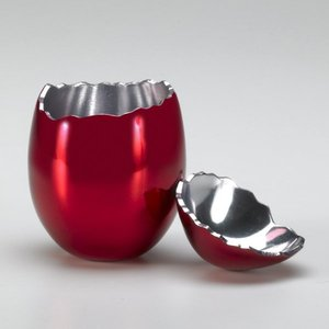 Jeff KOONS, Cracked Egg (Red)
