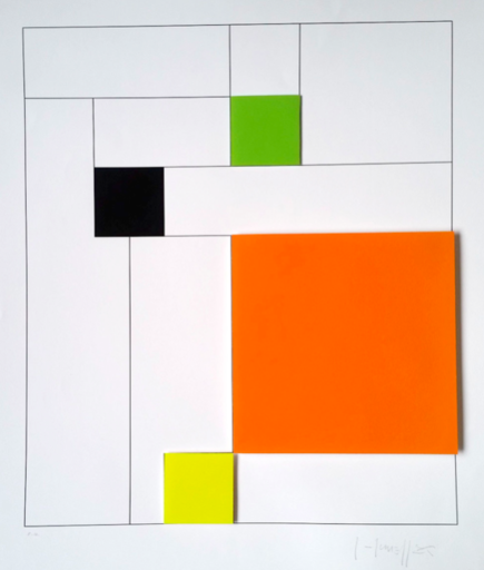 Gottfried HONEGGER - Print-Multiple - Konkrete Komposition
