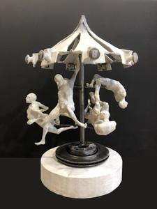 Val CARR-ORTOLAN - Sculpture-Volume - Autan en emporte le temps