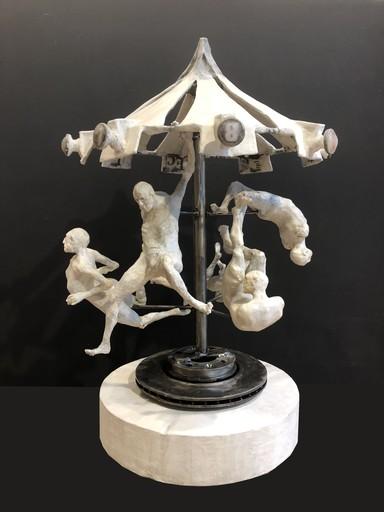 Val CARR-ORTOLAN - 雕塑 - Autan en emporte le temps
