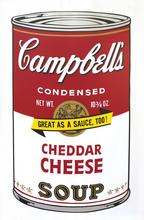 Andy WARHOL (1928-1987) - Campbell's Soup II // Cherddar Cheese (FS II.63) Siebdruck