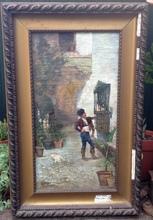 Adolfo AGUILA Y ACOSTA - Painting