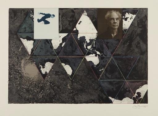 Jasper JOHNS - Estampe-Multiple - Ocean