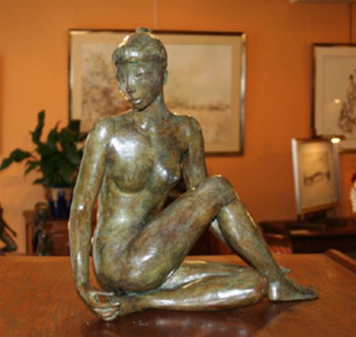 Jacques COQUILLAY - Skulptur Volumen - Le triangle