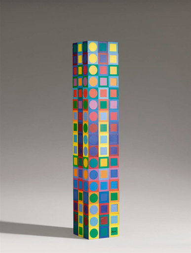 Victor VASARELY - Sculpture-Volume - MC1