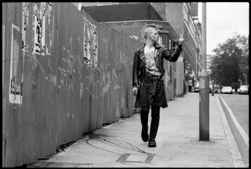 Yan MORVAN - Fotografia - Punk, London 1981