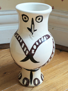 Pablo PICASSO, Wood Owl with Feathers