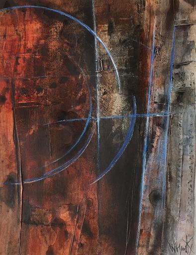 Robert WOGENSKY - Painting - sur le mur