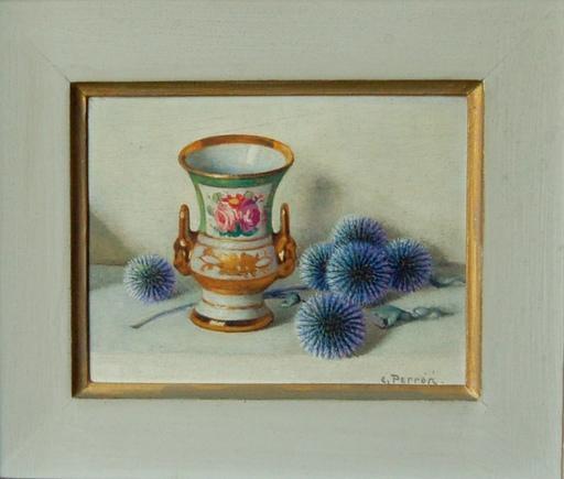 Charles Clément PERRON - Painting - chardons